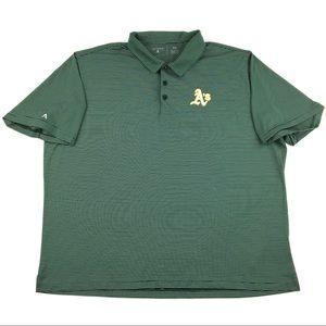 Antigua MLB Oakland Athletics Men's Polo Shirt